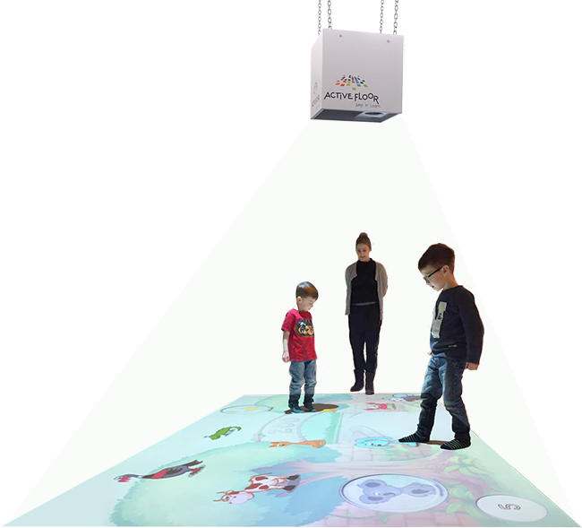 interactive floor solution